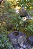 Japanese Stone Water Basin Stock Photos
