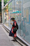 Japanese Street Fashion in Tokyo Stock Photos