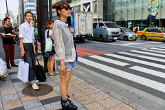 Japanese Street Fashion in Tokyo Stock Photo