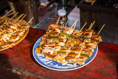 Japanese street food Royalty Free Stock Photos