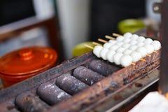 Japanese street food stock photography