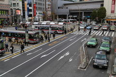 Japanese Street Royalty Free Stock Photography