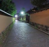 Historical architecture by night Kanazawa Japan Stock Photo