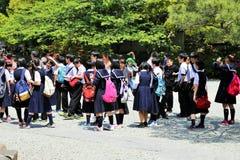 Japanese Students Stock Image