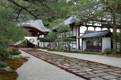 Japanese style. Japanese architecture. Historical place. Kyoto. japan Stock Photo
