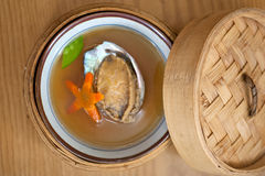 Japanese style abalone soup Royalty Free Stock Photography