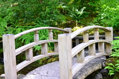 Japanese style bridge Stock Image