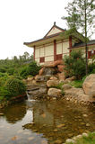 Japanese style building Stock Images