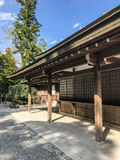 Japanese Style Building Royalty Free Stock Images