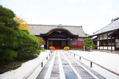 The Japanese-style building. In Japan Royalty Free Stock Images