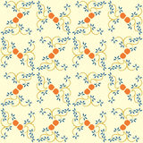 Japanese style decorative pattern Royalty Free Stock Photo