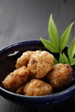 Japanese style fried chicken Royalty Free Stock Photo