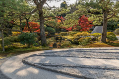 Japanese style garden Royalty Free Stock Image