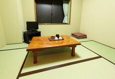 Japanese style house Stock Photos