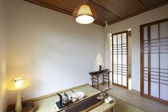 Japanese-style indoor environment Royalty Free Stock Photography