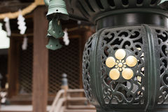 Japanese style lantern Royalty Free Stock Photos