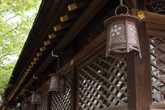 Japanese style lantern Royalty Free Stock Image