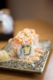 Japanese style maki sushi Stock Photos
