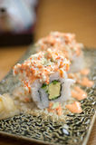 Japanese style maki sushi Royalty Free Stock Photo