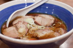 Japanese style noodle Stock Image