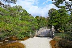 Japanese style park Stock Image