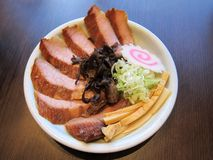 Japanese style pork Stock Image