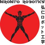 Japanese Style robotics Logo. A Japanese style logo for robotics, with accompanying eps vector file for customization Royalty Free Stock Images