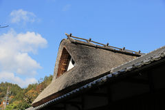 JAPANESE STYLE ROOF Royalty Free Stock Photography