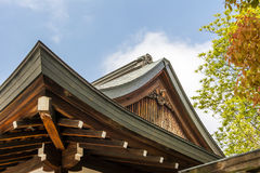 Japanese style roof Stock Photo