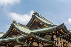 Japanese style roof Royalty Free Stock Image