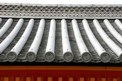 Japanese style roof top Royalty Free Stock Images