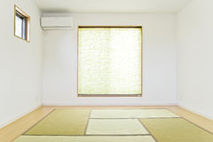 Japanese style room Royalty Free Stock Images