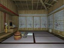 Japanese-style room Stock Image