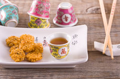 Japanese style snack. Royalty Free Stock Photos