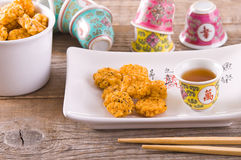 Japanese style snack. Stock Images