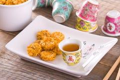 Japanese style snack. Stock Image