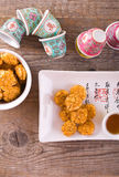 Japanese style snack. Stock Photo