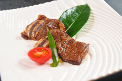 Japanese-style Steak Royalty Free Stock Images