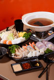 Japanese Style Steamboat Stock Photography