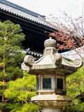 Japanese style stone lantern Royalty Free Stock Photography