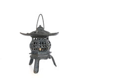 Japanese style tea house candle holder Royalty Free Stock Image