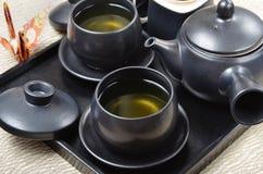Japanese style tea set Stock Image