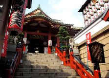 Japanese style temple Royalty Free Stock Image