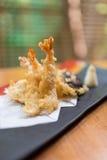 Japanese style tempura shrimp Royalty Free Stock Photography