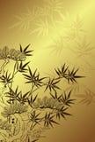 Japanese style tree background Stock Images