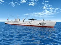 Japanese Submarine Stock Image