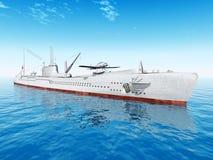 Japanese Submarine Royalty Free Stock Photos