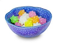 Japanese sugar candy. Hard round candy called `Kon-pei-to royalty free stock images