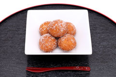 Japanese sugar donut Royalty Free Stock Photos
