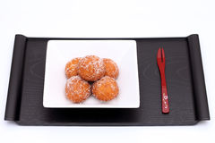 Japanese sugar donut Royalty Free Stock Images